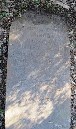 Martha Jefferson <i>Terrell</i> Minor