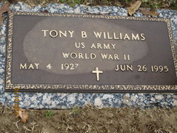 Tony B Williams