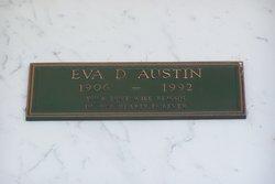 Eva D <i>Burgett</i> Austin