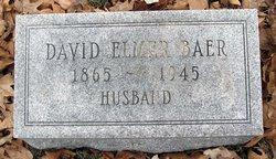 David Elmer Baer