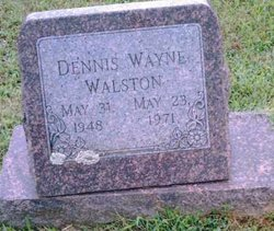 Dennis Wayne Walston