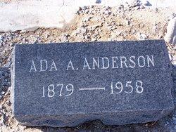 Ada Adeline Anderson