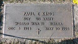Paul E King