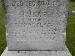 Lavina <i>Strickland</i> Slack