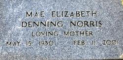 Mae Elizabeth <i>Denning</i> Norris