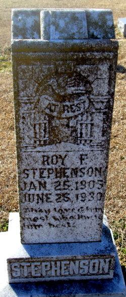 Roy F. Stephenson