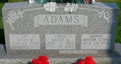 Detta E. Adams