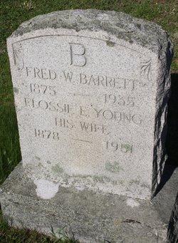 Flossie E <i>Young</i> Barrett