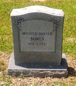Mildred <i>Danner</i> Bowen