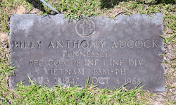 PFC Billy Anthony Adcock