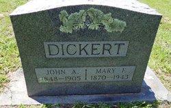 Mary Francis <i>Hall</i> Dickert