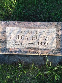 Helga Holme