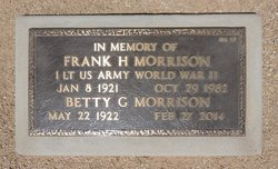 Frank H Morrison