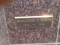 Marjorie I <i>Hill</i> Davis