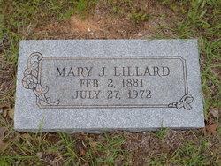 Mary J <i>Sessions</i> Lillard