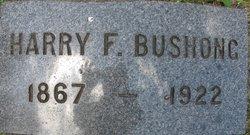 Harold Franklin Harry Bushong