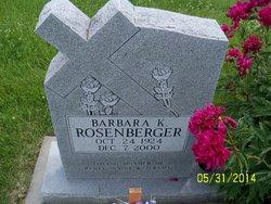 Barbara Kathleen <i>Rosenberger</i> Gurwell