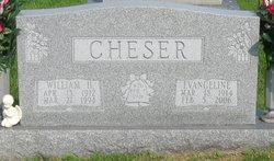 Evangeline <i>Foster</i> Cheser