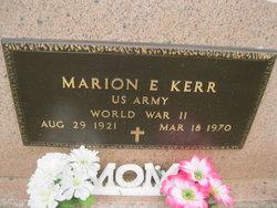 Marion Elwood` Kerr