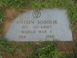 Anton John Sosolik, Sr