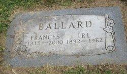 Frances Cornell <i>Hansel</i> Ballard