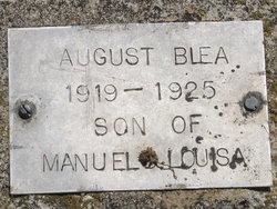 August Blea