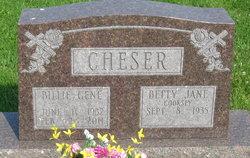 Billie Gene Cheser