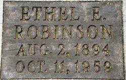 Ethel Ella <i>Hewitt</i> Robinson