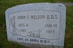 Dr John Theodore Wilson