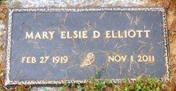 Mary Elsie <i>Duckett</i> Elliott