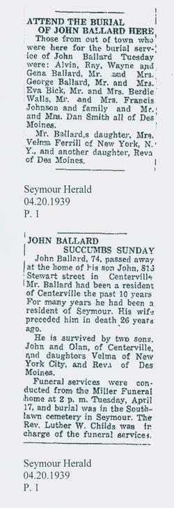 John W Ballard