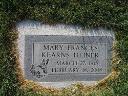 Mary Francis <i>Kearns</i> Heiner