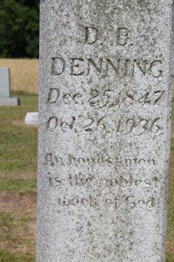 David Bryant D. B. Denning
