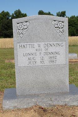 Hattie Mae <i>Wood</i> Denning
