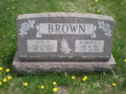 Florence <i>Laufer</i> Brown