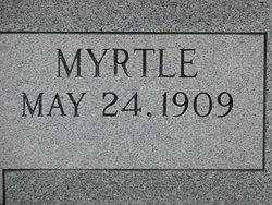 Myrtle <i>Macon</i> Burns