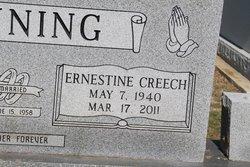Ernestine <i>Creech</i> Denning