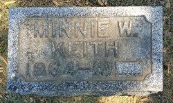 Minnie <i>Wadsworth</i> Keith