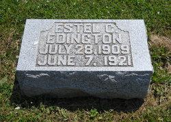 Estel C Edington