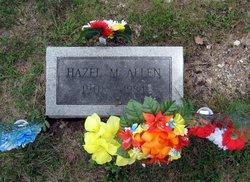 Hazel M <i>Atkinson</i> Allen