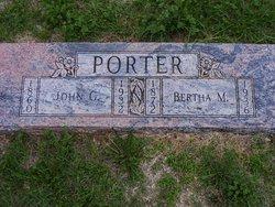 Bertha M Porter