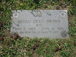 Bryan Dean Boe Brown