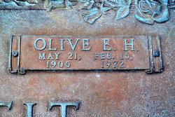 Olive Ella <i>Hannahs</i> Pettit