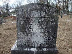 Martha A. <i>Perry</i> Bailiff