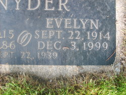 Evelyn <i>Vogel</i> Snyder