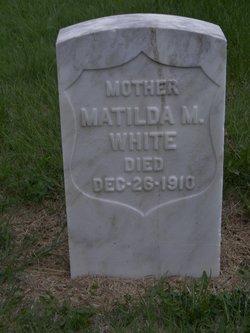 Martha Matilda <i>Waterworth</i> White