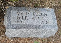 Mary Ellen <i>Dier</i> Allen