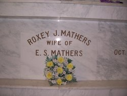 Roxey J. <i>Huss</i> Mathers