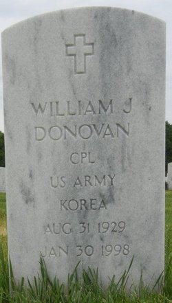 William J Donovan
