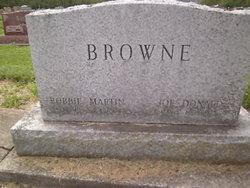 Bobbie <i>Martin</i> Browne